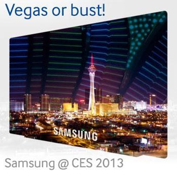 Samsung CES 2013 TV Vegas