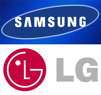 Samsung and LG TV brands