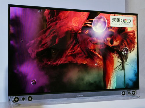 skyworth oled  First Chinese OLED TV Uses 55″ WRGB Panel From LG – & It's Flat!
