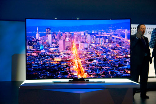 Samsung S9B bendable TV