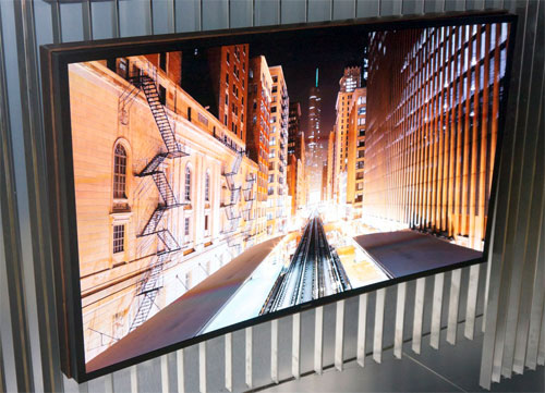 Samsung flexible OLED TV
