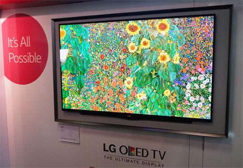 lg s 55 gallery oled tv goes on sale at harrods for 7k. Black Bedroom Furniture Sets. Home Design Ideas