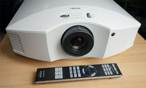 sony vpl hw40es hw40 projector review rh hdtvtest co uk DLP Projector Overhead Projector