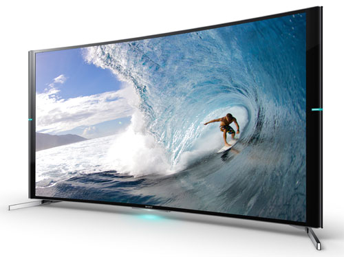 Sony Outs S90, Its First Curved 4K TV, In 65″ & 75″ Sizes