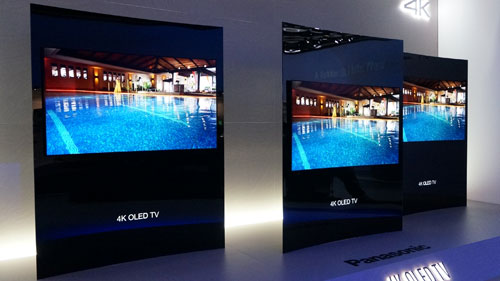 panasonic to launch 65 4k curved oled tv in 2015. Black Bedroom Furniture Sets. Home Design Ideas