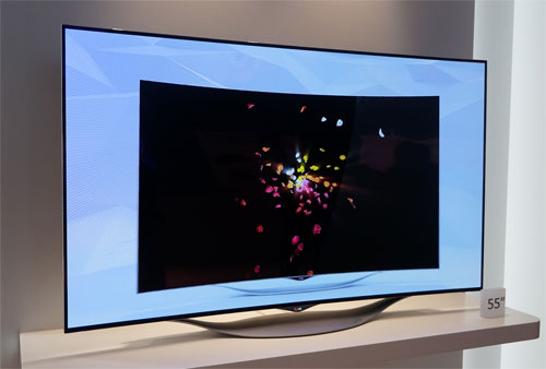 lg dazzles ifa with oled tv lineup 4k curved flexible. Black Bedroom Furniture Sets. Home Design Ideas