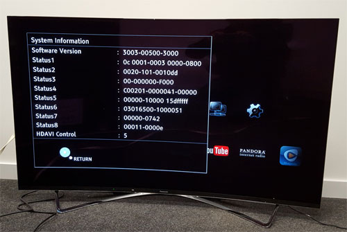 Panasonic Viera TX-65CZ950E TV 64Bit