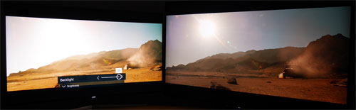 Maximum backlight for Mad Max SDR Blu-ray