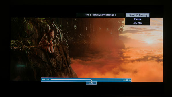 Dolby Vision vs HDR-10 4K Blu-ray on 2016 LG OLED TV