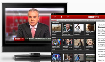 BBC red button to internet TV