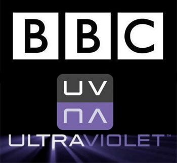 BBC and UltraViolet logos