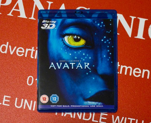 Avatar 3D Blu-ray disc