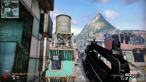 Favela map on Modern Warfare 2