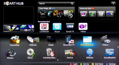 Samsung UE46D8000YU SMART TV Driver UPDATE