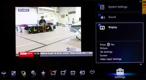 Sony KDL40EX723/ KDL32EX723 (EX723) 3D LED LCD TV Review