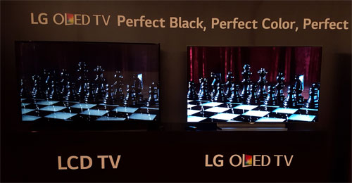 OLED vs LCD display technology