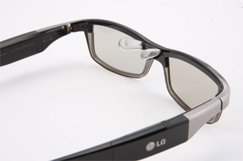 LG 3D Glasses designed by Alain Mikli