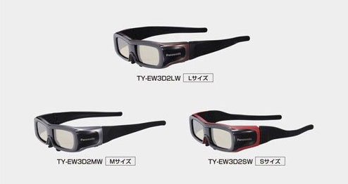 Panasonic New 3D Glasses