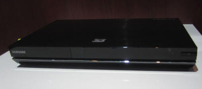 Samsung Blu-ray player with Google TV