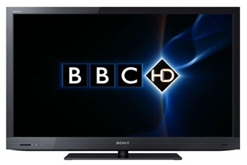 BBC HD on Sony TV