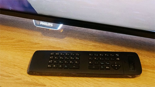Philips QWERTY remote